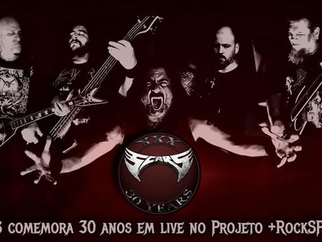 Scars comemora 30 anos em live no Projeto +RockSP 2021