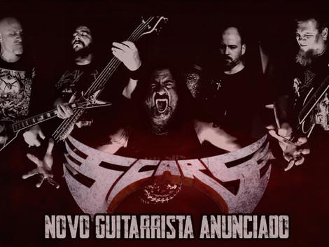 Scars anuncia novo guitarrista