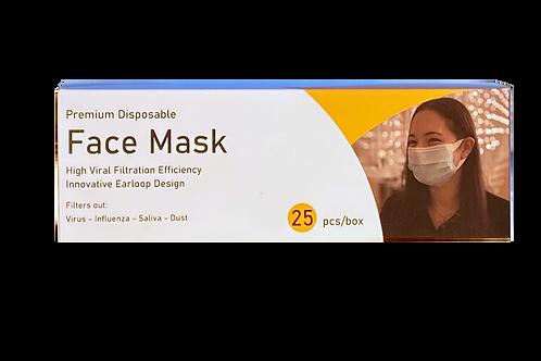 25 Count Masks