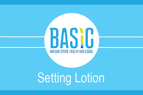 Setting Lotion