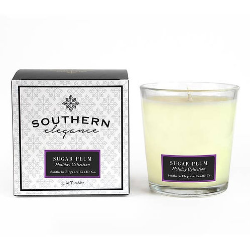 Fall & Holiday 11 oz Tumbler Candles- Southern Elegance Candle Co.,