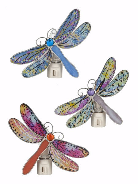 Dragonfly Night Light (3 different color choices)