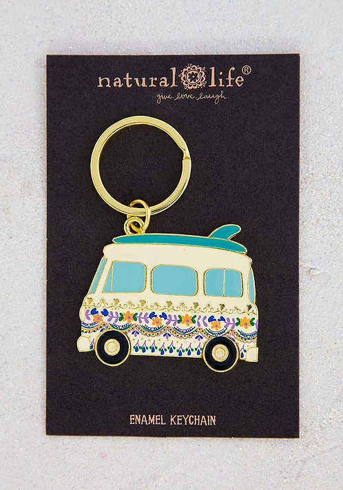 Natural Life Enamel Key Chains