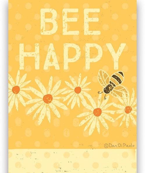 Bee Happy List Pad