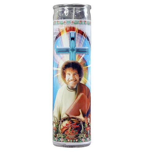 Bob Ross Celebrity Candle