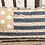 Thumbnail: Rustic Distressed American Flag Pillow