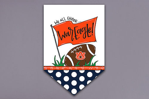SEC We All Cheer Small Yard Flags