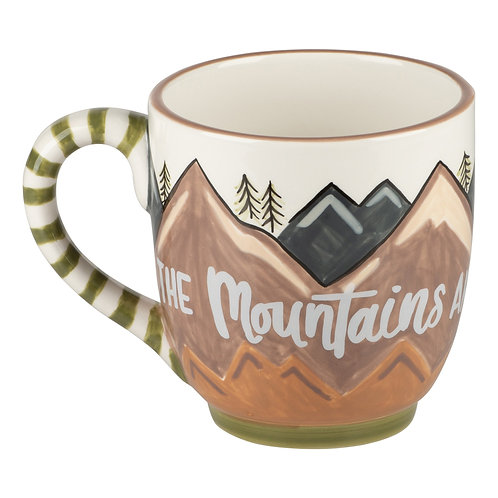 THE MOUNTAINS MY HAPPY PLACE MUG