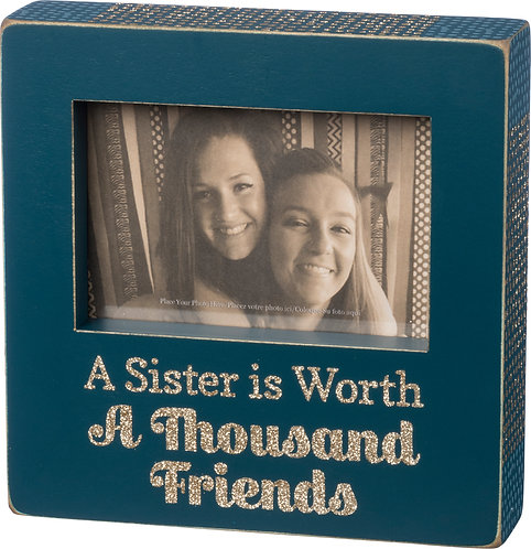 A Sister is Worth a Thousand Friends Frame
