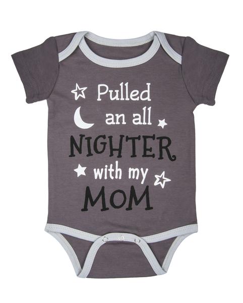 All Nighter Diaper Shirt by Baby Ganz