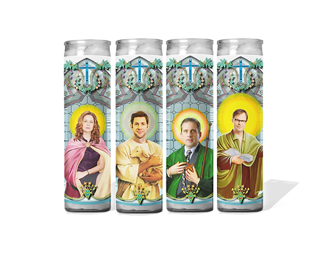 The Office Celebrity Candles