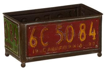 License Plate Planter (Large)