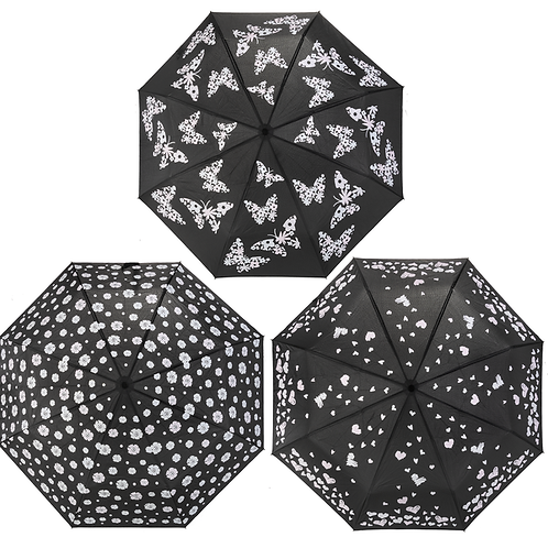 Color Changing Umbrellas (3 Styles)