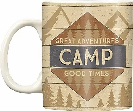 Great Adventures: Camp Coffee Mug