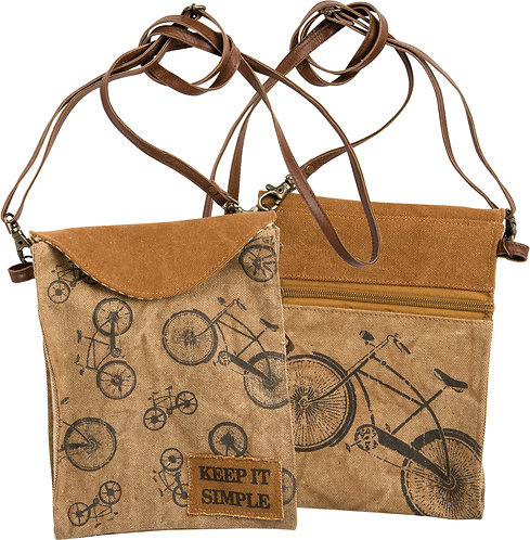 Canvas Cross Over Bags