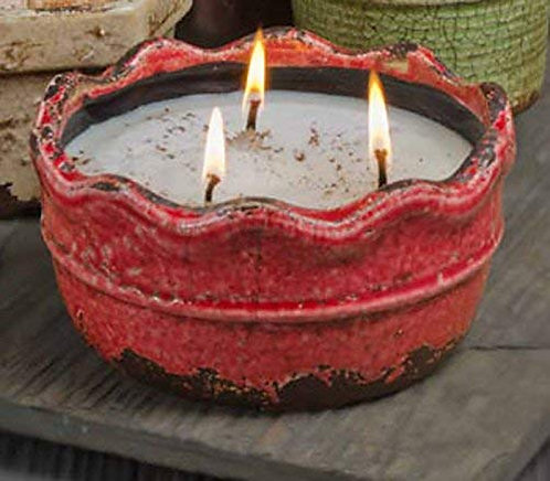 Swan Creek Candle Co. Ruffle Pots 17 oz (Large)