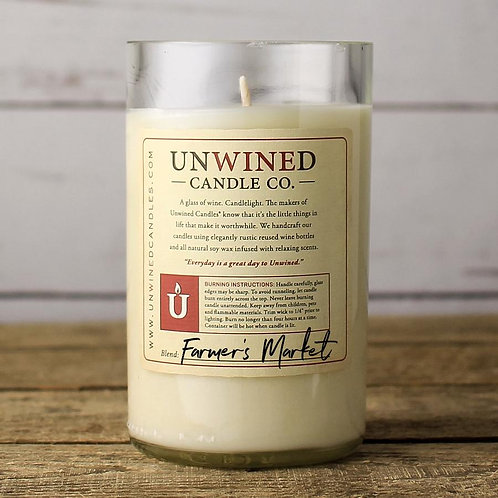 Unwined Signature Soy Candles 12 ounces