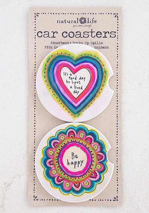 Car Coasters-Set of 2
