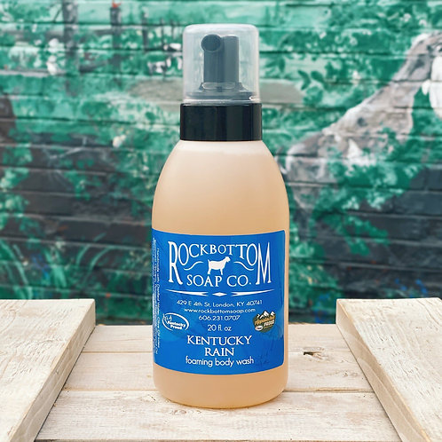 Rock Bottom Foaming Body Wash (20 oz) (4 different scent choices)