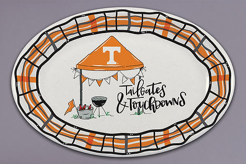 TN Tailgate and Touchdown X-Large Oval Tray