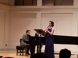 Performing at the IU Jacobs School