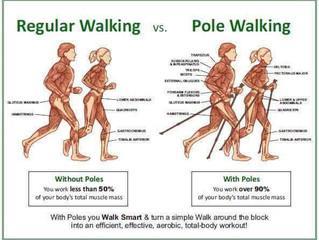 Differenza tra correre e nordic walking
