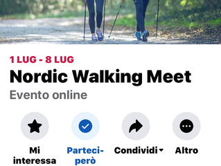 Nordic Walking Meet con Decathlon.
