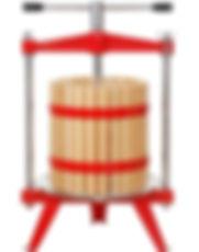 harvest-bounty-cider-wine-press-wood-bas