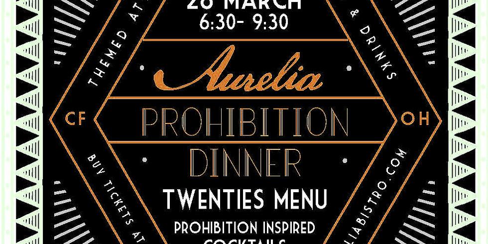 Prohibition Dinner