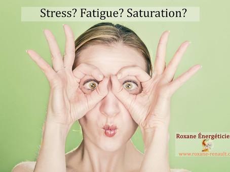 Stress? Fatigue?