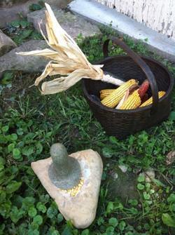 Grinding Corn