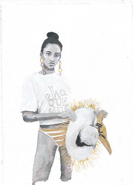 jacquemus  spring illustration matilda