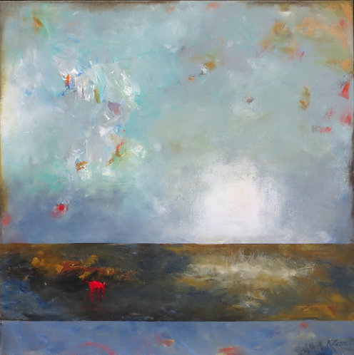 """Rising Above it All I 24"""" x 24"""""""