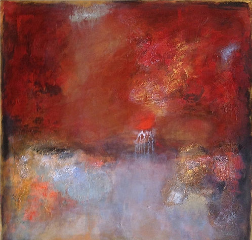 """Etherial Reflections I 30"""" x 30"""""""