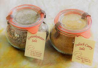 Salzgrotte LaSalis : Salzauswahl