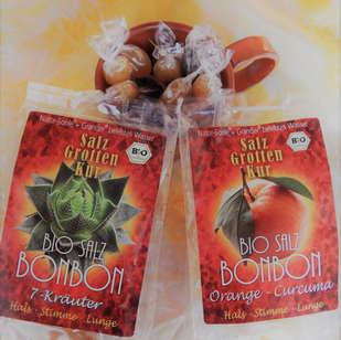 Salzgrotte LaSalis : Salzbonbons