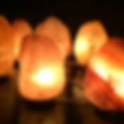 Lampen aus Himalayasalz
