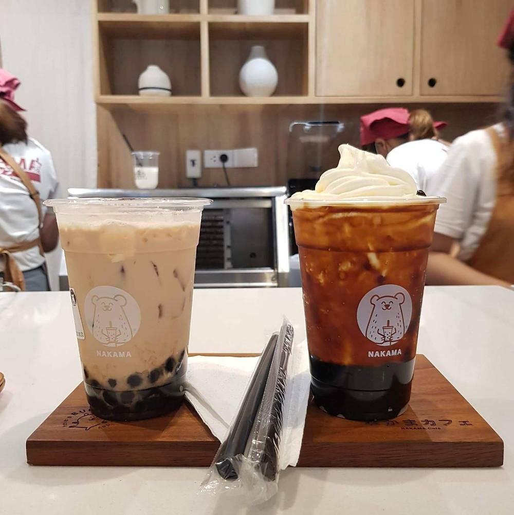 Nakama Cafe, นากามะ, คาเฟ่ วัดอุโมงค์