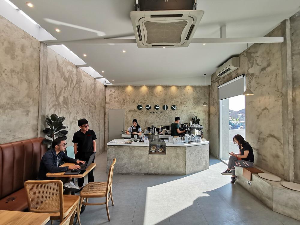 Grain Cafe, คาเฟ่ วัดอุโมงค์