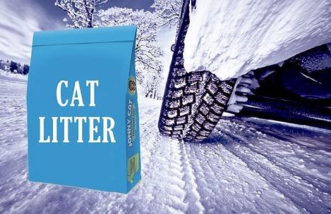 Cat Litter Snow