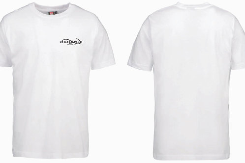 T-shirt i bomull. Herr