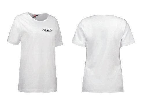 T-shirt i bomull. Dam