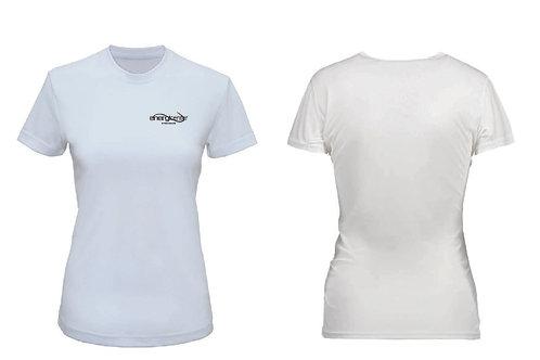 T-shirt i funktionsmaterial Dam