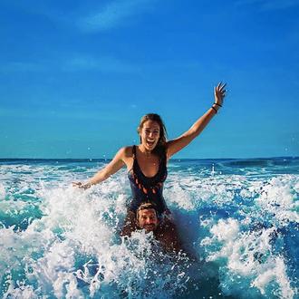 Enjouing the waves in Rincón