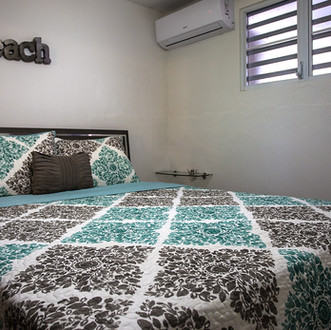Bedroom in the Surfhouse