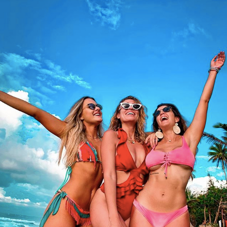 The Beach Pad is great for a girls trip!