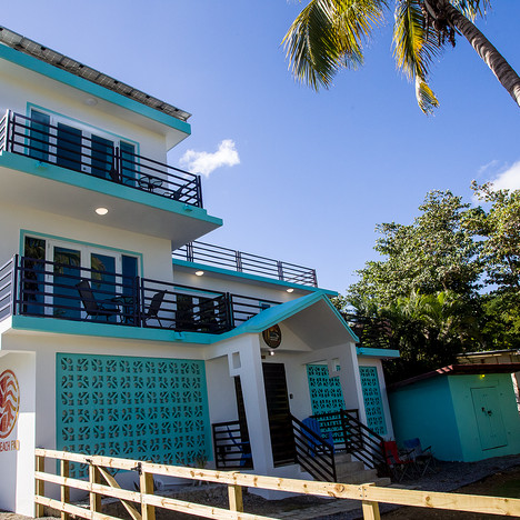 Front view of The Beach Pad