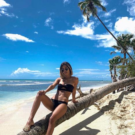 Enjoying the sun in Puerto Rico