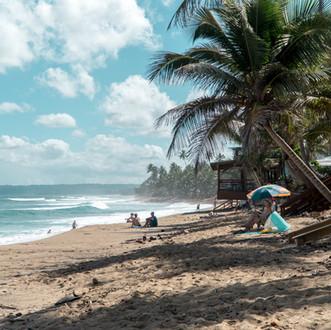 Sandy Beach is less than a 5 minute walk from The Beach Pad
