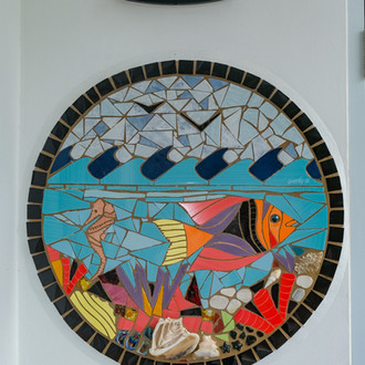 Mosaic at the ocean loft
